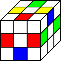 Ребра кубика всего 12 штук